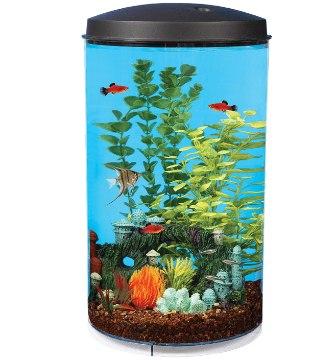 AquaView 6-Gallon 360 Aquarium