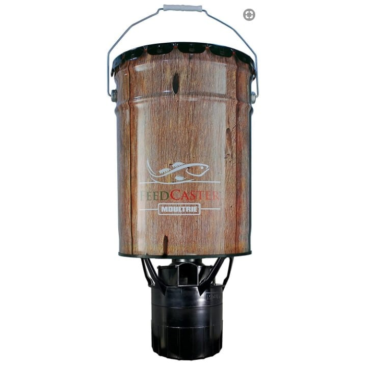 Moultrie 6.5-Gallon FeedCaster Fish Feeder
