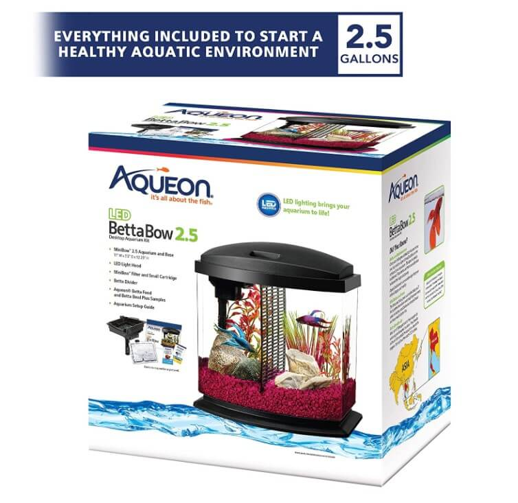 Aqueon LED MiniBow Aquarium Starter Kits