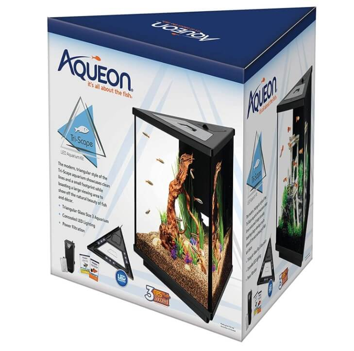 Aqueon Tri-Scape LED Aquarium Kit 3 Gallons