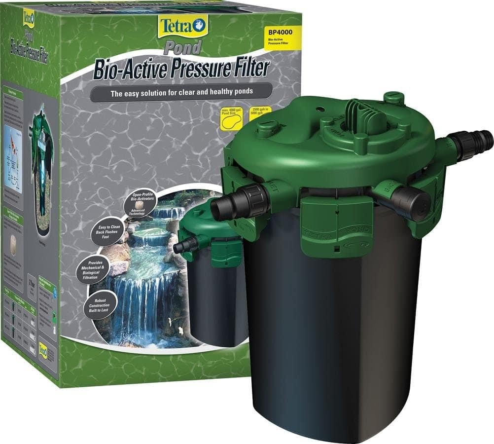 TetraPond Bio-Active Pressure Filter for Clear and Healthy Ponds