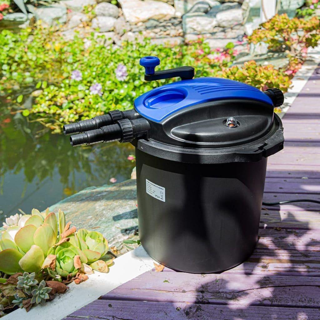 XtremepowerUS Koi Pond Filter