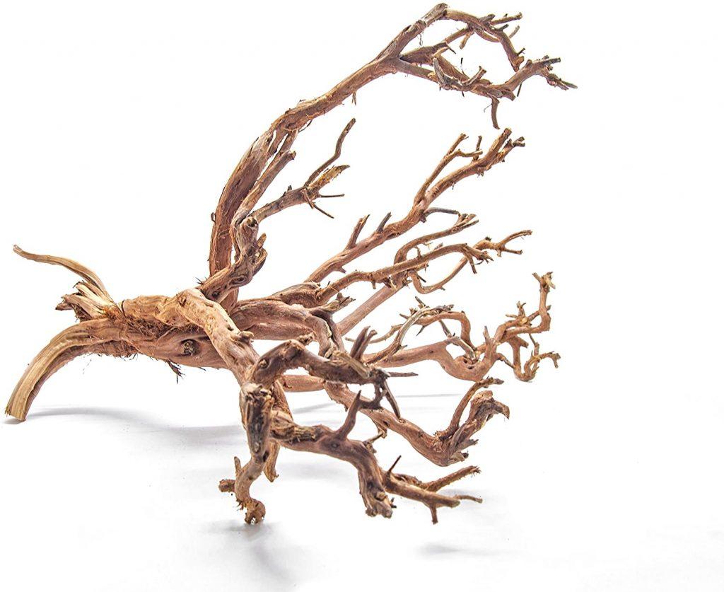 Aquatic Arts 1 X-Large Piece of Tiger Wood Natural Aquarium Driftwood