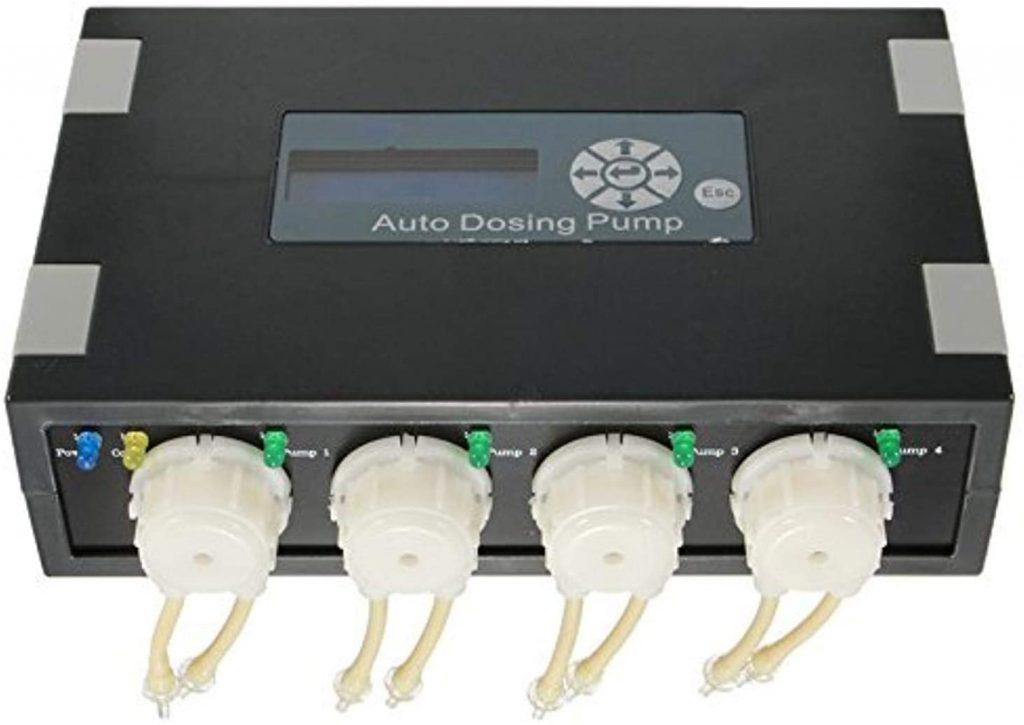 Jebao Programmable Auto Dosing Pump DP-4, Black