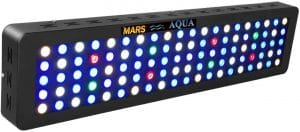 MarsAqua Dimmable 300W LED Aquarium Light 55 Gallon Coral Reef Light