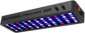 Phlizon 165W Dimmable Full Spectrum Auqarium LED Light