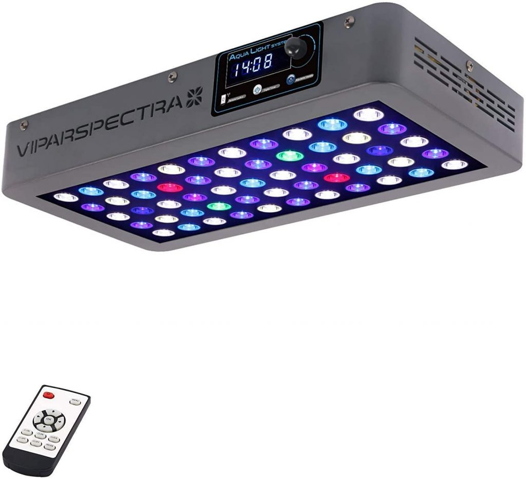 VIPARSPECTRA Timer Control Dimmable 165W 300W LED Aquarium Light Full Spectrum