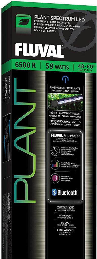 Fluval Plant 3.0 LED Planted Aquarium Lighting, 59 Watts, 48-60 Inches